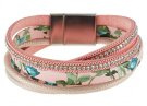 SOLVEIG - Bracciale - silver-coloured/pink