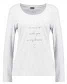 COZY WORLD - Maglia del pigiama - grey melange