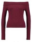Maglietta a manica lunga - burgundy