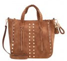 BLEEANN - Shopping bag - cognac