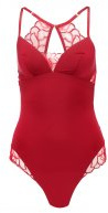 ROSE ESSENCE BODY - Body - rumba red