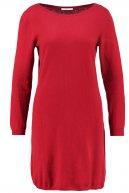 Vestito di maglia - dark red
