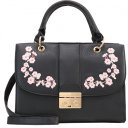 EMBROIDERY - Borsa a mano - black