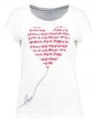 VALENTINES - T-shirt con stampa - off white