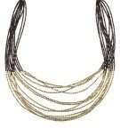 Collana - black/gold