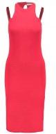 Vestito di maglia - rosso