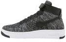AF1 ULTRA FLYKNIT - Sneakers alte - black/white/dark grey