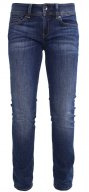 MIDGE SADDLE MID STRAIGHT - Jeans a sigaretta - cerro stretch denim