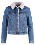 VINTAGE SHERPA TRUCKER - Giacca di jeans - blue denim