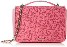 Love Moschino JC4026, Borse a Tracolla Donna, Rosa (Pink), 9 x 18 x 28 cm (B x H x T)