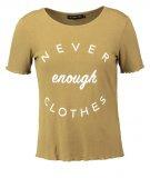 Even&Odd Tshirt con stampa khaki