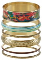 6 PACK TROPICAL FLY - Bracciale - carmin
