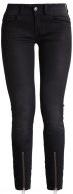 LYNN ZIP GRIP MID SKINNY - Jeans Skinny Fit - slander black superstretch