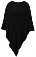 Pieces PCRIKKI PONCHO Mantella black