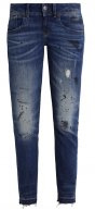 LYNN MID SKINNY RP ANKLE  - Jeans slim fit - kiso stretch denim