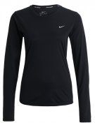 MILER - T-shirt sportiva - black/reflective silver