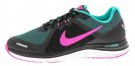 DUAL FUSION X 2 - Scarpe running neutre - black/pink blast/clear jade/white/reflect silver