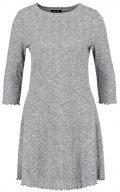Vestito di maglia - mid grey