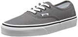 Vans Authentic, Sneaker Unisex - Adulto, Grigio (Pewter/Black), 34.5 Eu