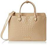 LYDC - Sartorial Croc Laptop Bag, Borse a Tracolla Donna
