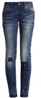 MIDGE CODY MID SKINNY  - Jeans slim fit - destroyed denim