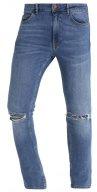 Jeans slim fit - bleached denim