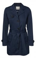 Trench - navy blazer