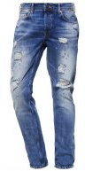 ONSWEFT  - Jeans a sigaretta - medium blue denim