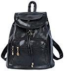 CrazySell Womens Ladies PU Zaino Moda Schoolbag Borsa a tracolla in pelle sintetica Zaino giornaliero Zaino Donna Dolce e carino