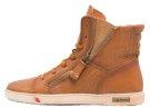 JOMAR - Sneakers alte - cognac