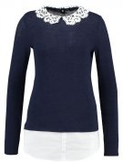 Maglione - navy/ivory