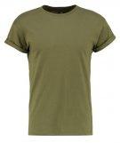 MUSCLE FIT - T-shirt basic - khaki/olive