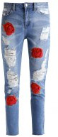 RIOT - Jeans a sigaretta - stonewash