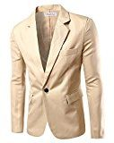 Uomo con risvolto center-vent One-Button Blazer