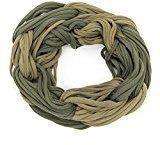 ManuMar Loop-Panno sciarpa per Donna | collo con strisce in tinta unita colori come accessorio perfetto estate | per tubo sciarpa–Il regalo ideale per donne