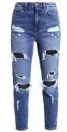 MOM SAMBUCA - Jeans baggy - mid blue