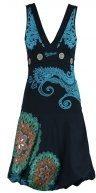 LAURITA - Vestito di maglina - marino