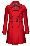 BELLE  - Trench - letterbox red