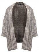 DOGE - Cardigan - medium grey/beige