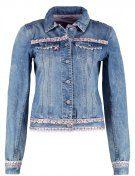 Giacca di jeans - blau/rosa