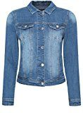 oodji Ultra Donna Giacca in Jeans Basic