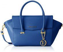 Trussardi 75b492xx53, Borsa a Mano Donna, Blu (Blue Royal), 47x25x18 cm (W x H x L)