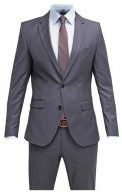 SHDONE MYLO LOGAN SLIM FIT  - Vestito elegante - grey