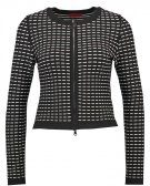 SISILE - Cardigan - black/white
