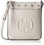 Guess Korry Petite Crossbody Top Zip Borsa a Tracolla, Donna, Marrone (Bone)