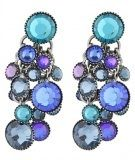 DANGLING WATERFALLS - Orecchini - blue/lila