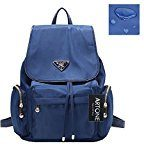 Artone Da Donna Resistente All'Acqua Nylon Classic Daypack Coulisse Zaino With Didietro Antifurto Pocket