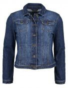 Giacca di jeans - mid stone wash denim