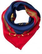 FRANCESCA - Foulard - navy/brilliant