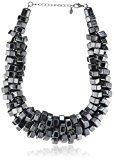Pieces–Collana da Donna in Metallo Daxana 17052589,Grigio